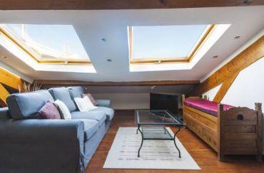 Beautiful attic apartment