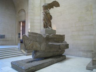 The Winged Victory of Samothrace is back